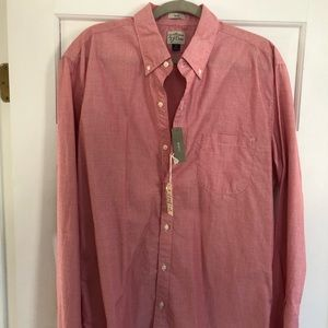 Brand New J. Crew Cotton Button-Down Shirt